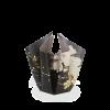 Ein schönes Geschenk für Ihn - Vase Schwarz und Gold