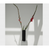 Show Vase - schwarz mit Marmorsockel - ein perfektes Geschenk