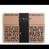 Geschenkverpackung Metall-Vogel Amsel von Metalbird: ein tolles Gartendeko-Geschenk