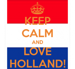 Cadeau spel Keep calm and be Dutch